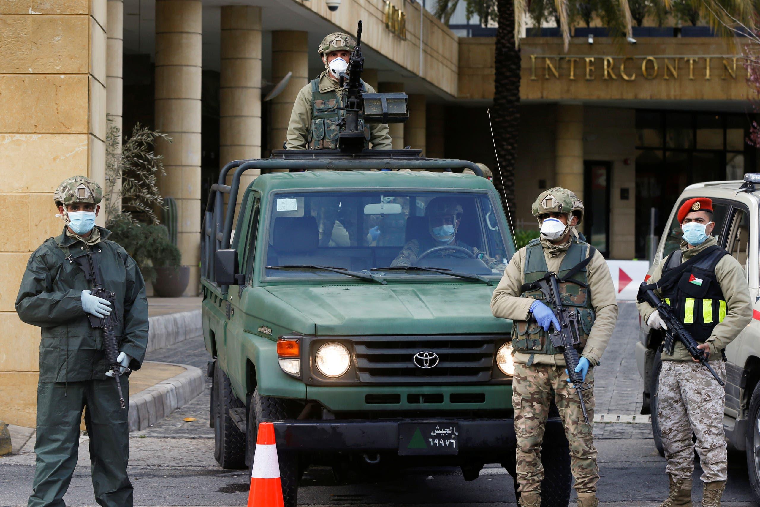 تقييد الحركة في الأردن