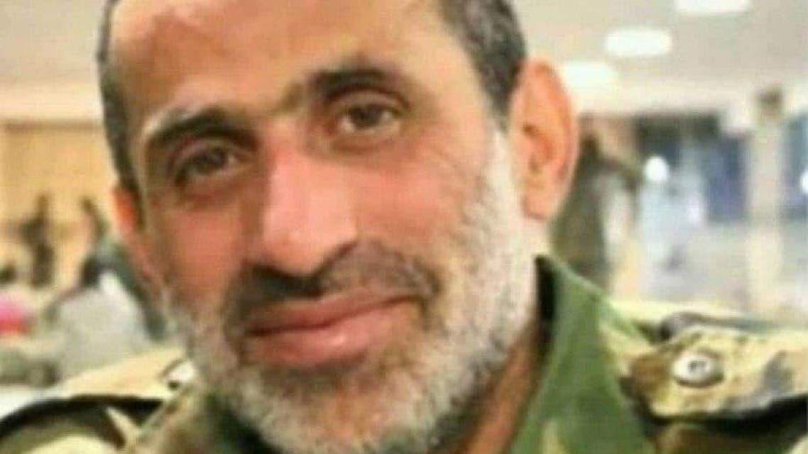 Iranian military commander Mehran Azizani was killed in Syria. (Twitter)