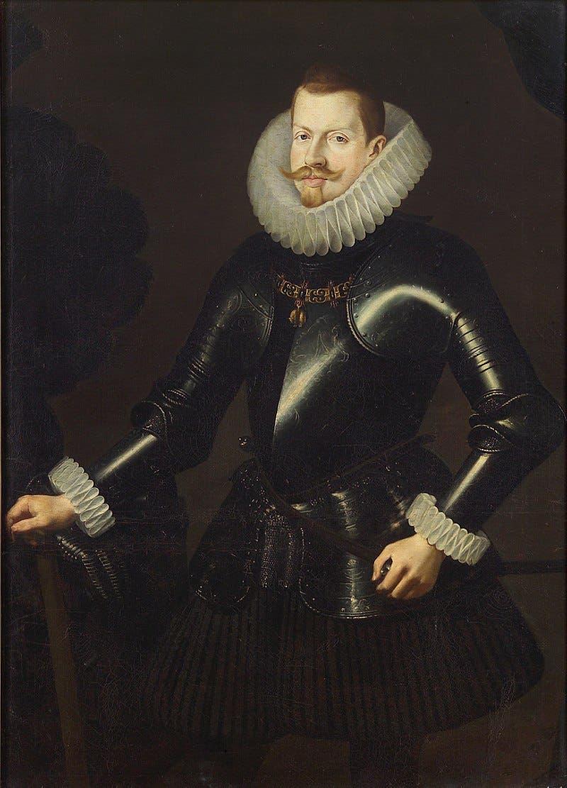 رسم تخيلي لفيليب الثالث ملك اسبانيا