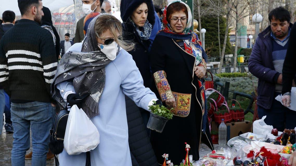 من بازار تجريش في طهران (19 مارس فرانس برس)