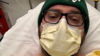 مصاب بكورونا يوثق ألمه على تويتر: انهرت ودموعي تفيض