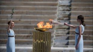 ژاپن شعله المپیک را تحویل گرفت؛ تنها بدون تماشاگر و کرونازده