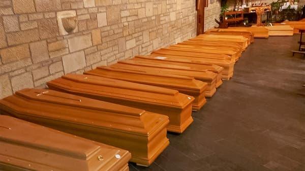 شاهد مدينة تفيض جثثاً... لا أمكنة في المقابر