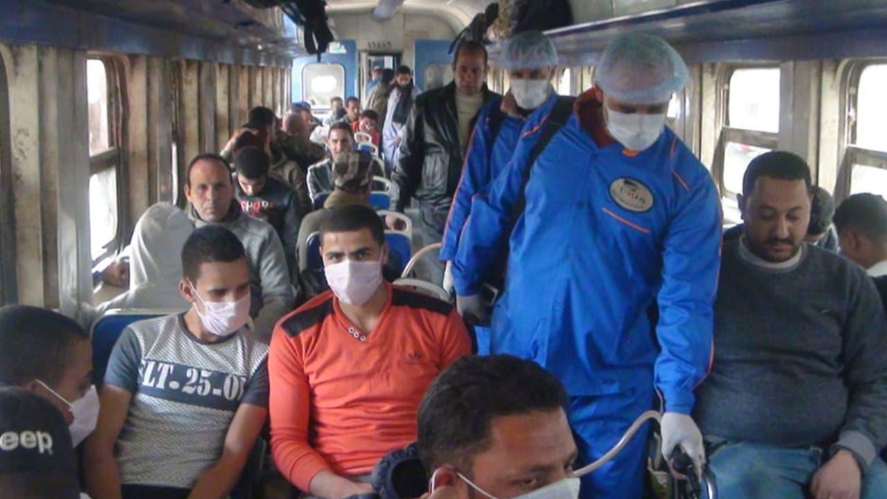 من عمليات التعقيم بمصر