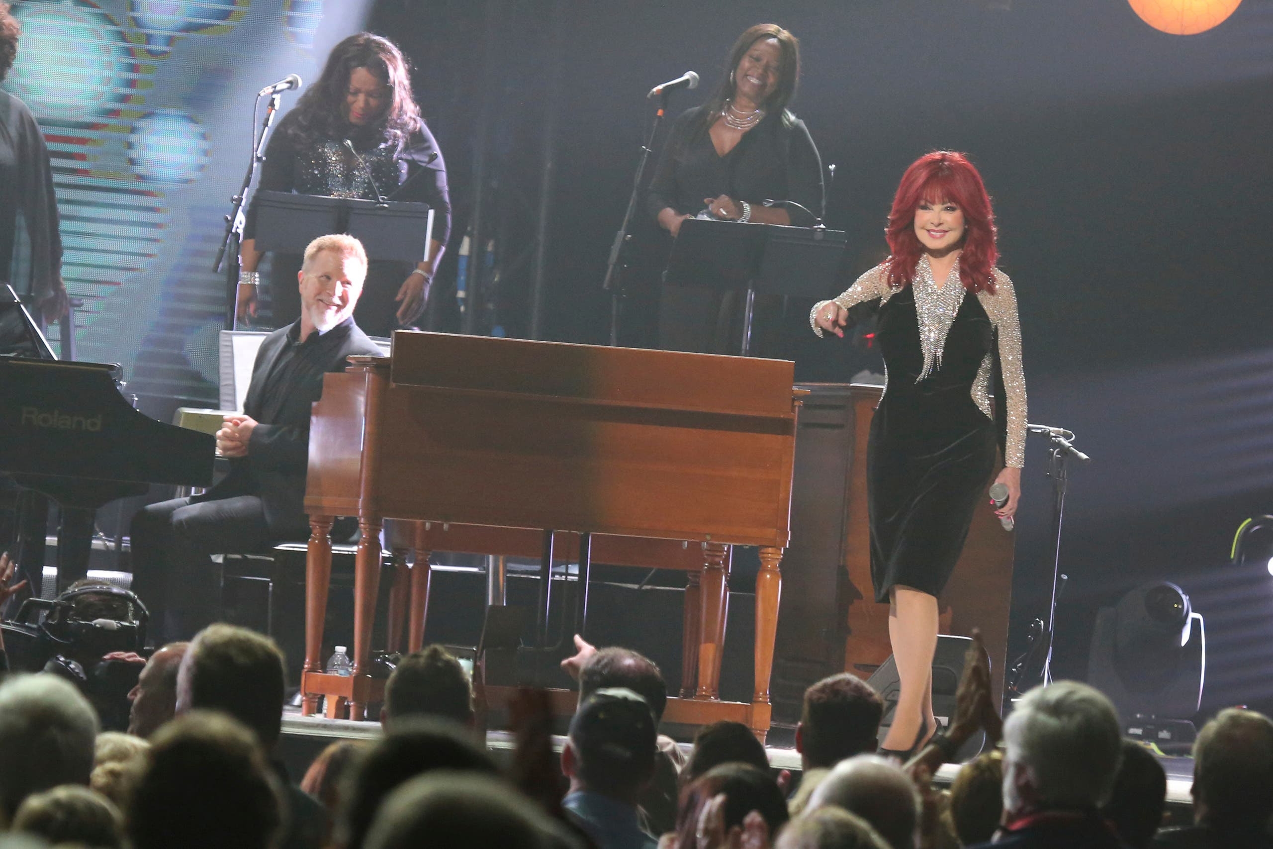 "Artist Naomi Judd performs at  ""All In For The Gambler: Kenny Rogers' Farewell Concert Celebration"