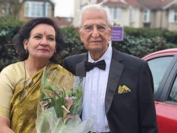 متحدياً كورونا.. عمره 100 استبق العزل الصحي وتزوج