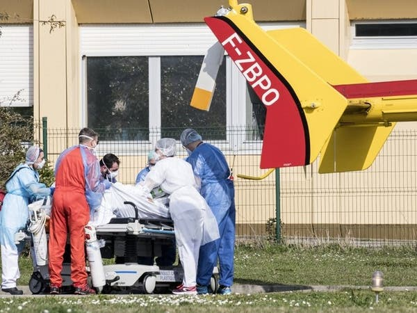 فرنسا خامس دولة تسجل أكثر من ألف حالة وفاة بكورونا