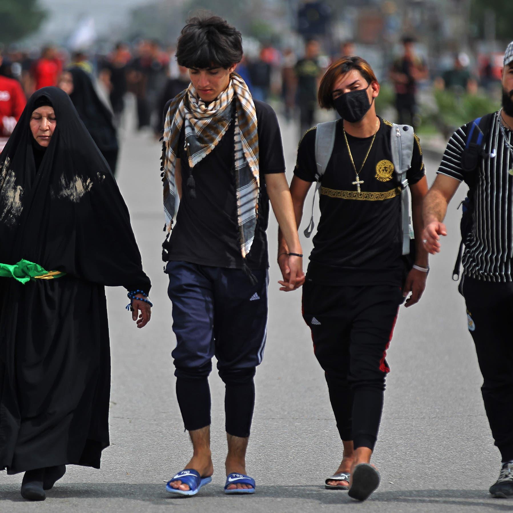 200 مخالف لحظر التجول ببغداد.. العراقيون لا يلتزمون