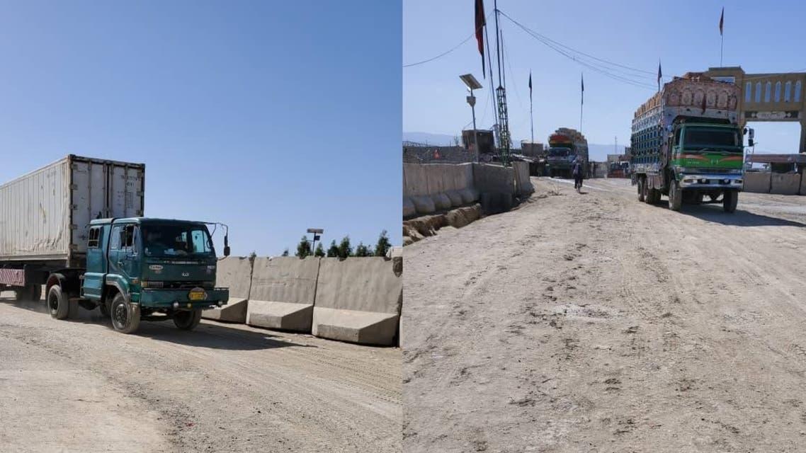 پاکستان مرز چمن را برای رفتوآمد موترهای باربری افغانستان باز کرد