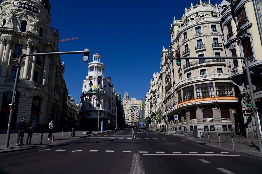 مدريد - فرانس برس