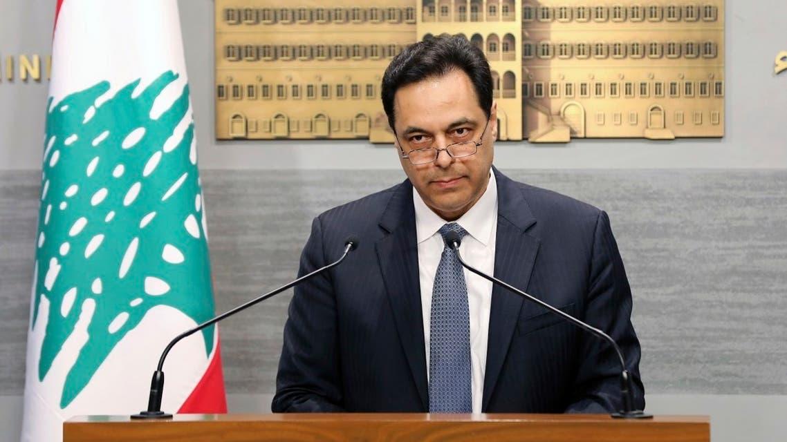 Lebanon PM Hassan Diab