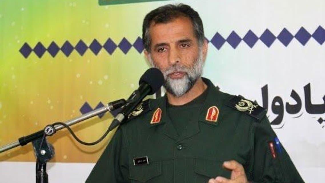 Senior commander in Iran's Islamic Revolutionary Guard Corps (IRGC), Hossein Asadollahi. (Twitter)
