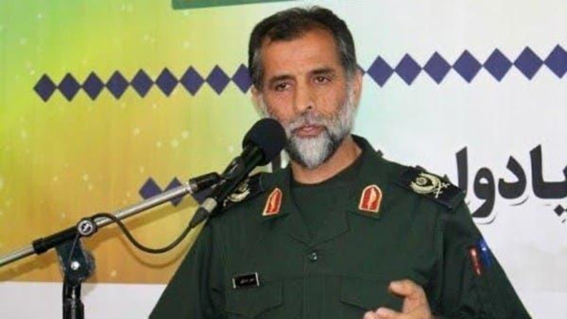 Iran's Islamic Revolutionary Guard Corps Commander Hossein Asadollahi.