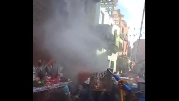 فيديو طريف لمصريين يعقمون المعازيم وجهاز عروس ضد كورونا
