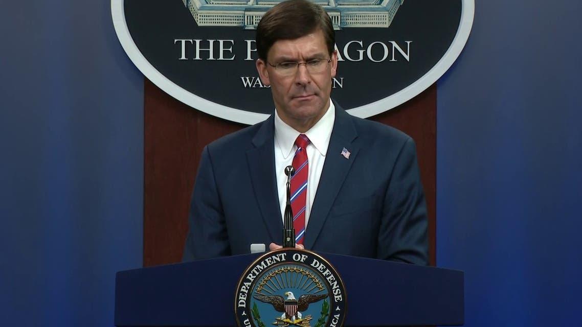 وزير الدفاع الأميركي