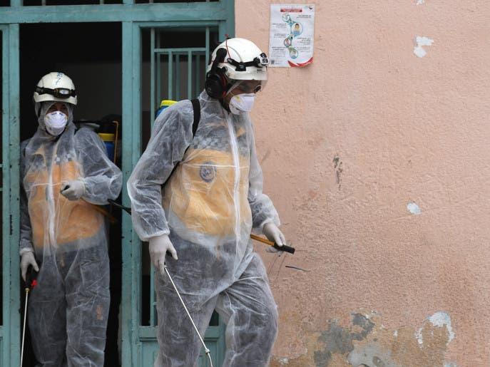 السوريون يهرعون للتخزين بعد ظهور أول حالة إصابة بكورونا