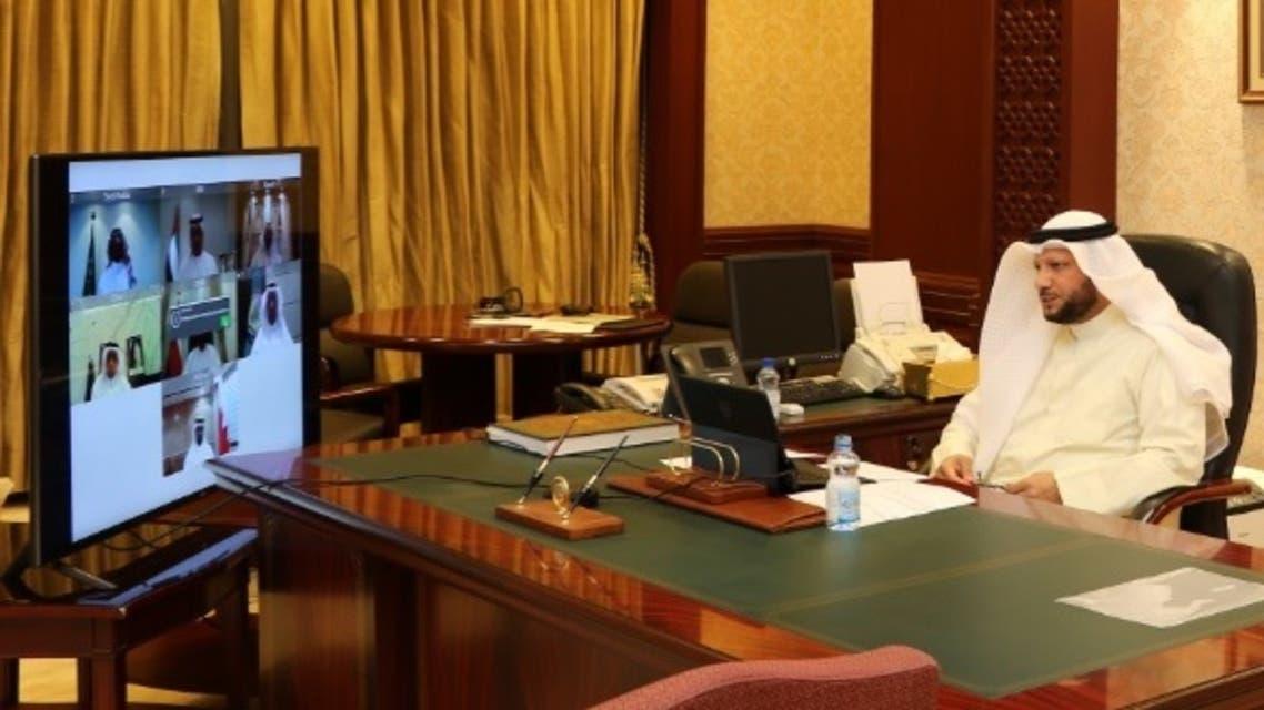 Kuwaiti Minister of Finance Barrak Al-Sheetan