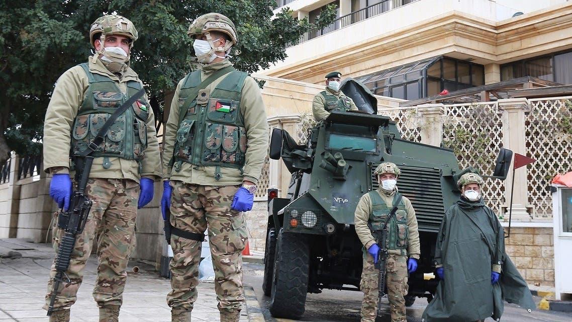 Jordan Army Coronavirus
