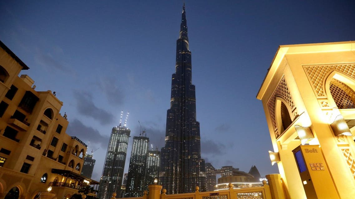 A view shows the Burj Khalifa, the world's tallest building, mostly deserted, following the outbreak of coronavirus, in Dubai, United Arab Emirates, March 23, 2020. (Reuters)