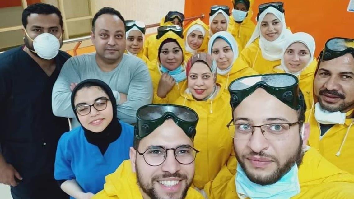 مصر كورونا عزل مسشتفى