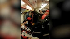 Coronavirus: London underground crowded despite 'keep your distance' warnings