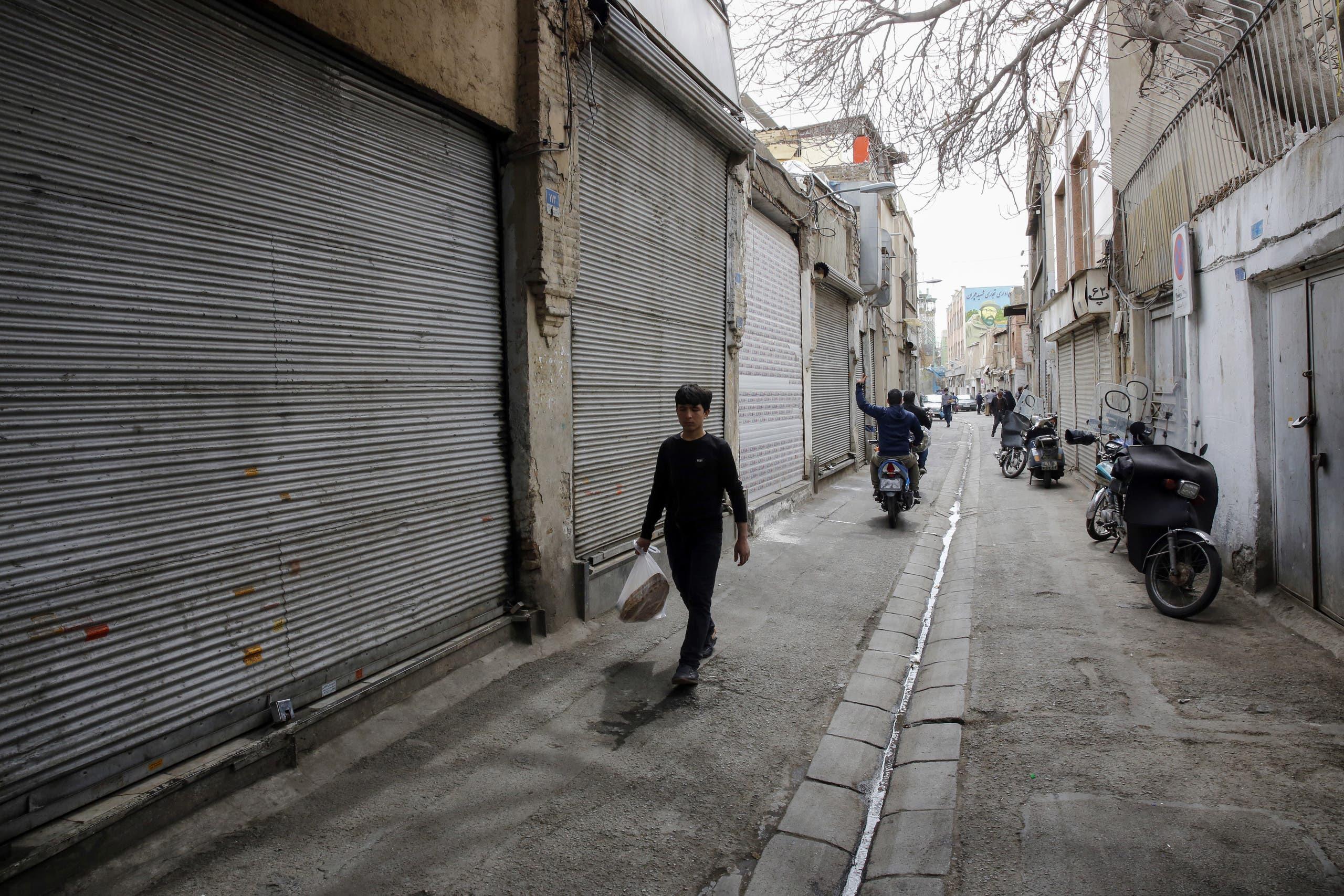 من البازار الكبير في طهران (أرشيفية- فرانس برس)