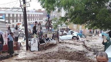 صور.. ضحايا وأضرار بأمطار غزيرة اجتاحت عدن