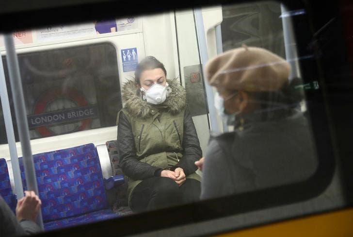 من قطار أنفاق في لندن (أرشيفية)
