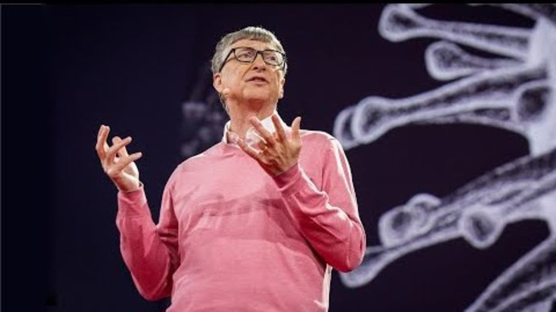 Bill Gates during a TED talk titled 'The next outbreak? We're not ready' in March 2015. (TED.COM)