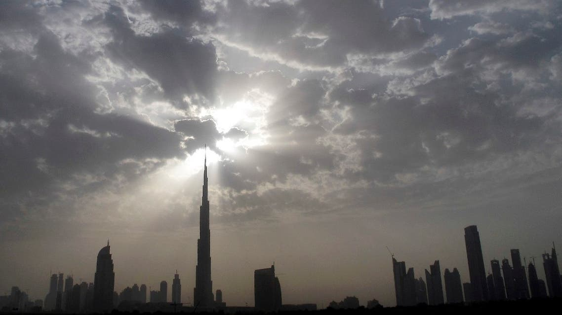 The Dubai skyline with Burj Khalifa (C) is seen during the late afternoon from the Sheikh Zayed highway, March 28, 2010. (File photo: Reuters)