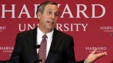 Harvard president and his wife test positive for coronavirus