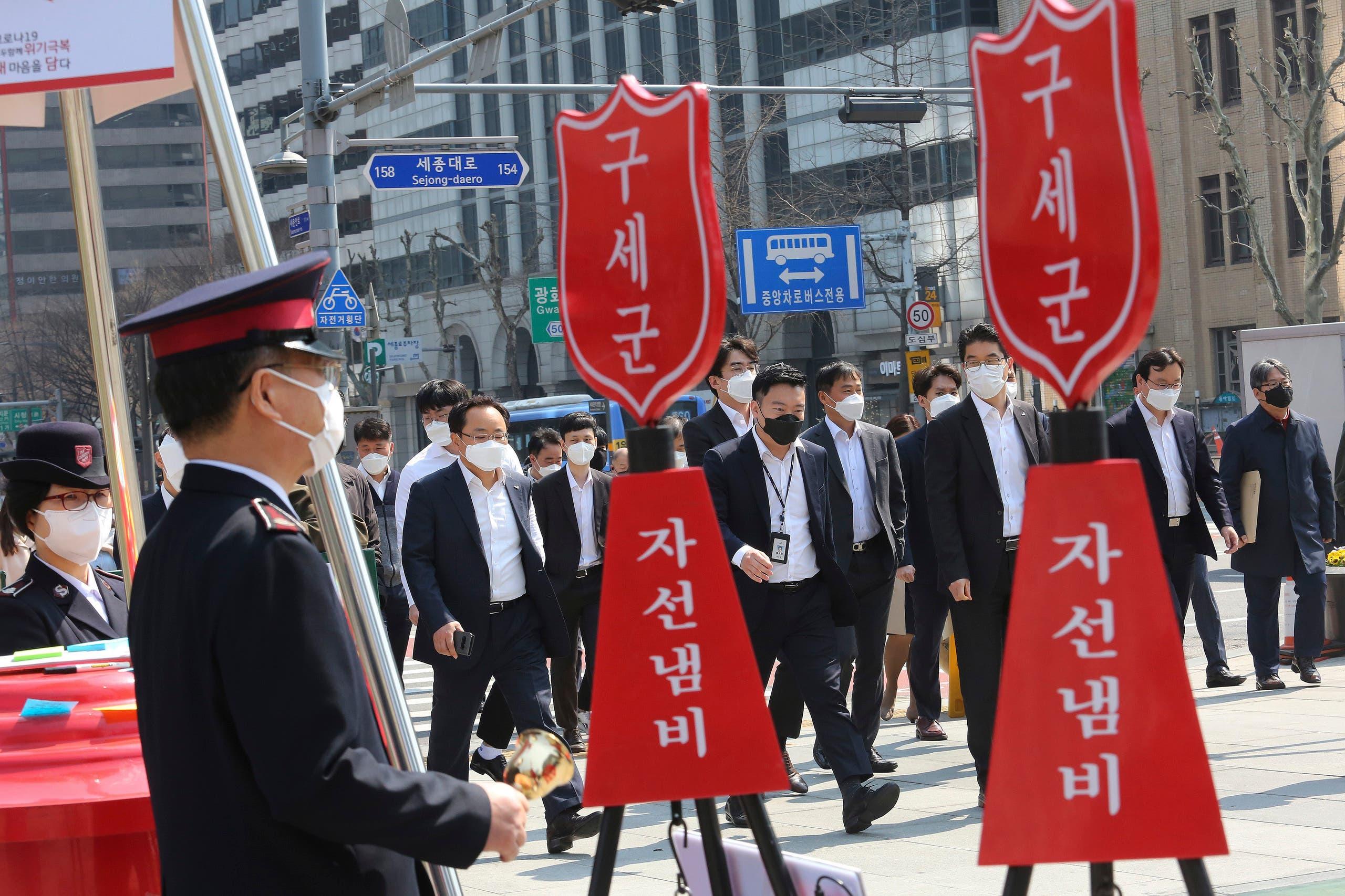 من كوريا الجنوبية (أسوشييتد برس)