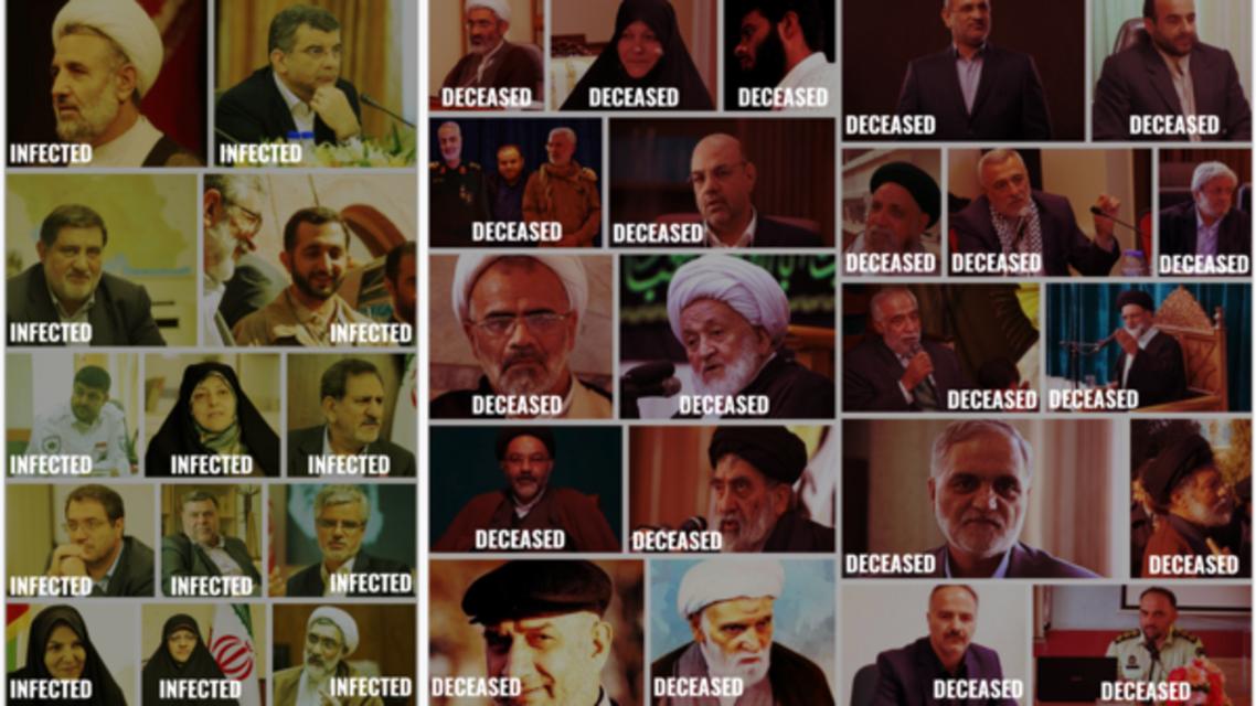ایران میں کرونا سے ہلاکتیں
