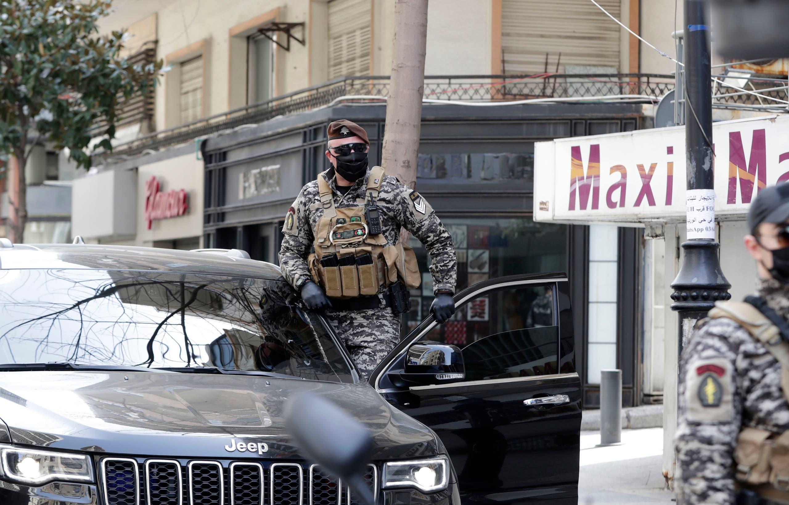 من بيروت يوم 25 مارس