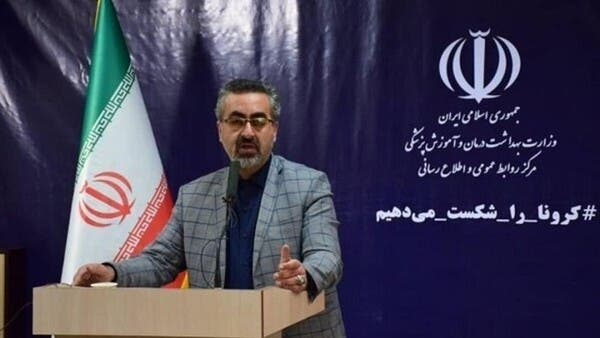 متحدث وزارة الصحة الإيرانية يثير جدلا.. صورة ورطته