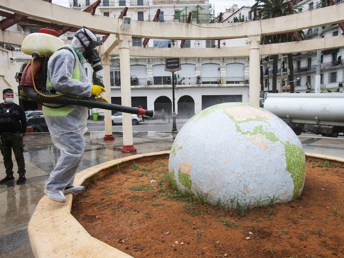 ارتفاع حصيلة كورونا في الجزائر.. 367 إصابة و25 وفاة