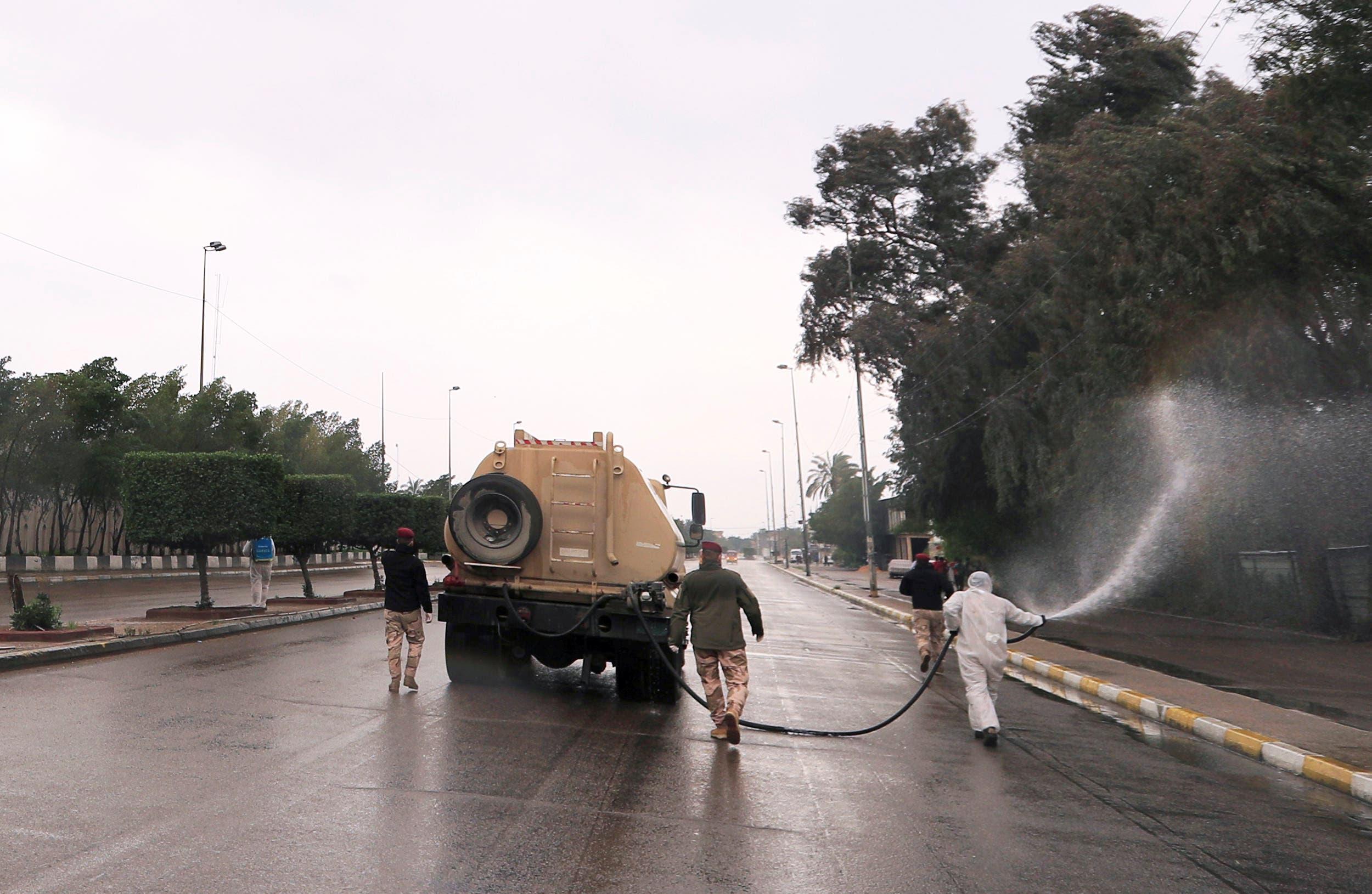من بغداد يوم 18 مارس
