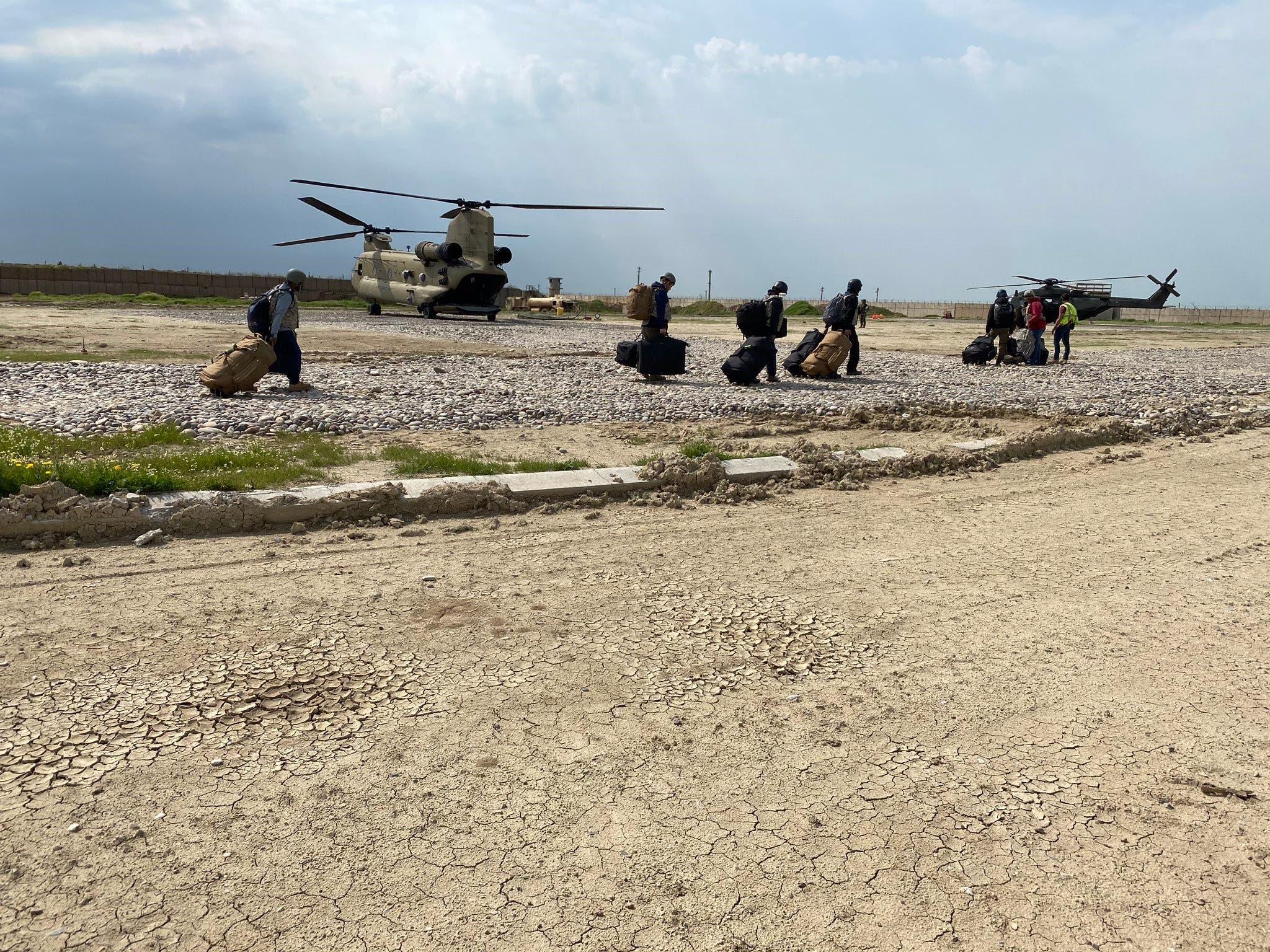 جنود مشاركون في عمليات التحالف الدولي ضد داعش