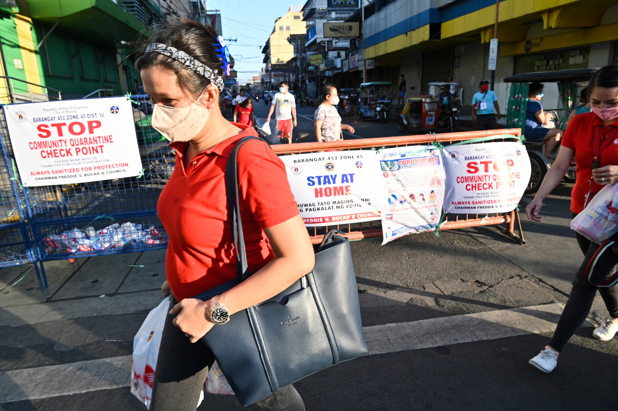 من مانيلا يوم 25 مارس
