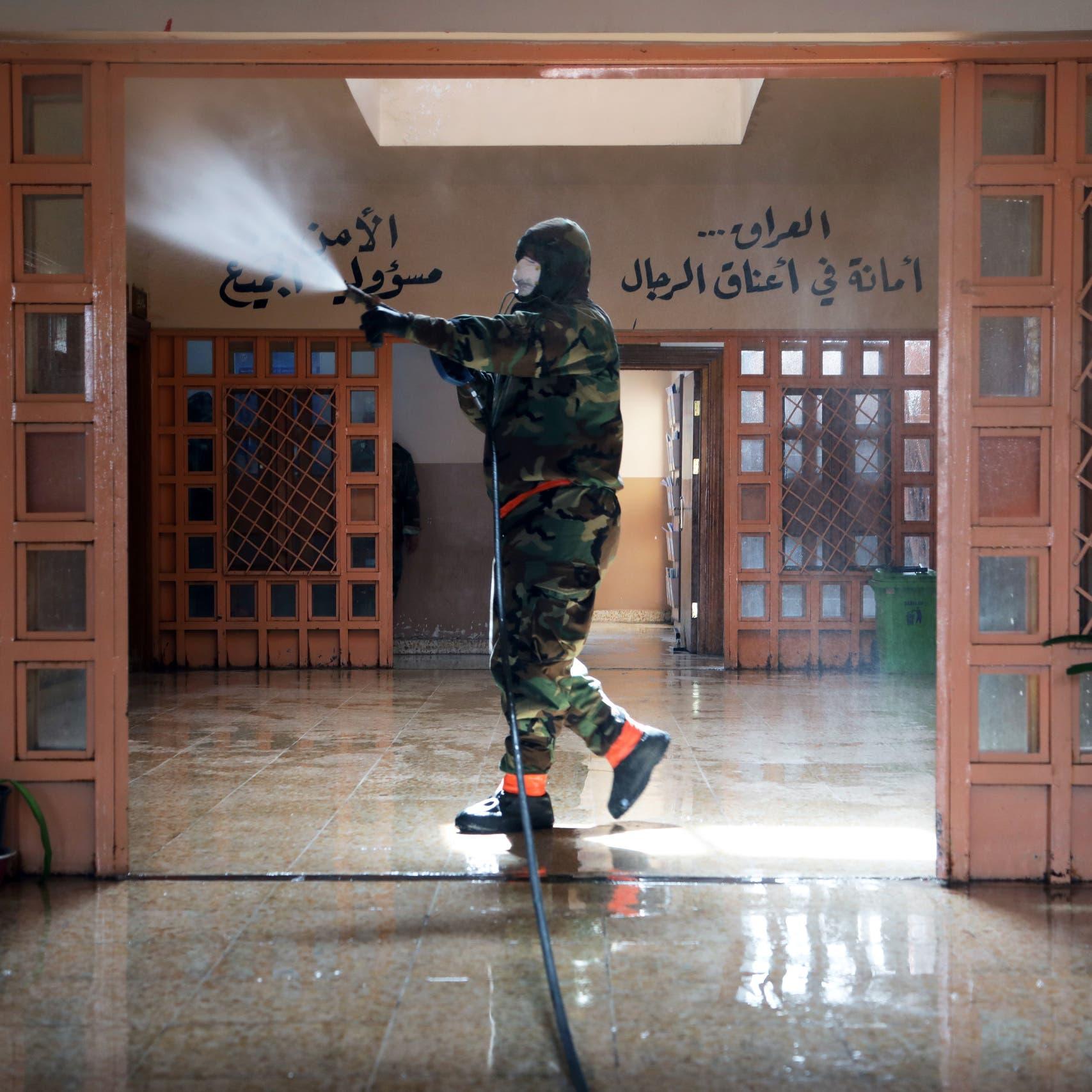 العراق.. حريق في مقر الإنتربول في محافظة المثنى