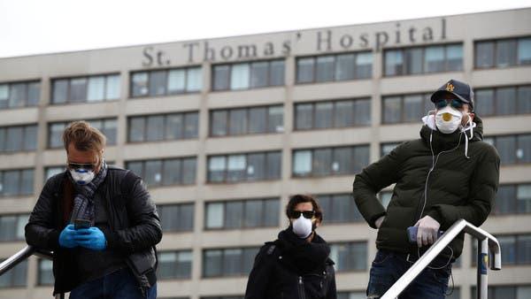 بريطانيا: مرضى كورونا يتدفقون للمستشفيات كالتسونامي