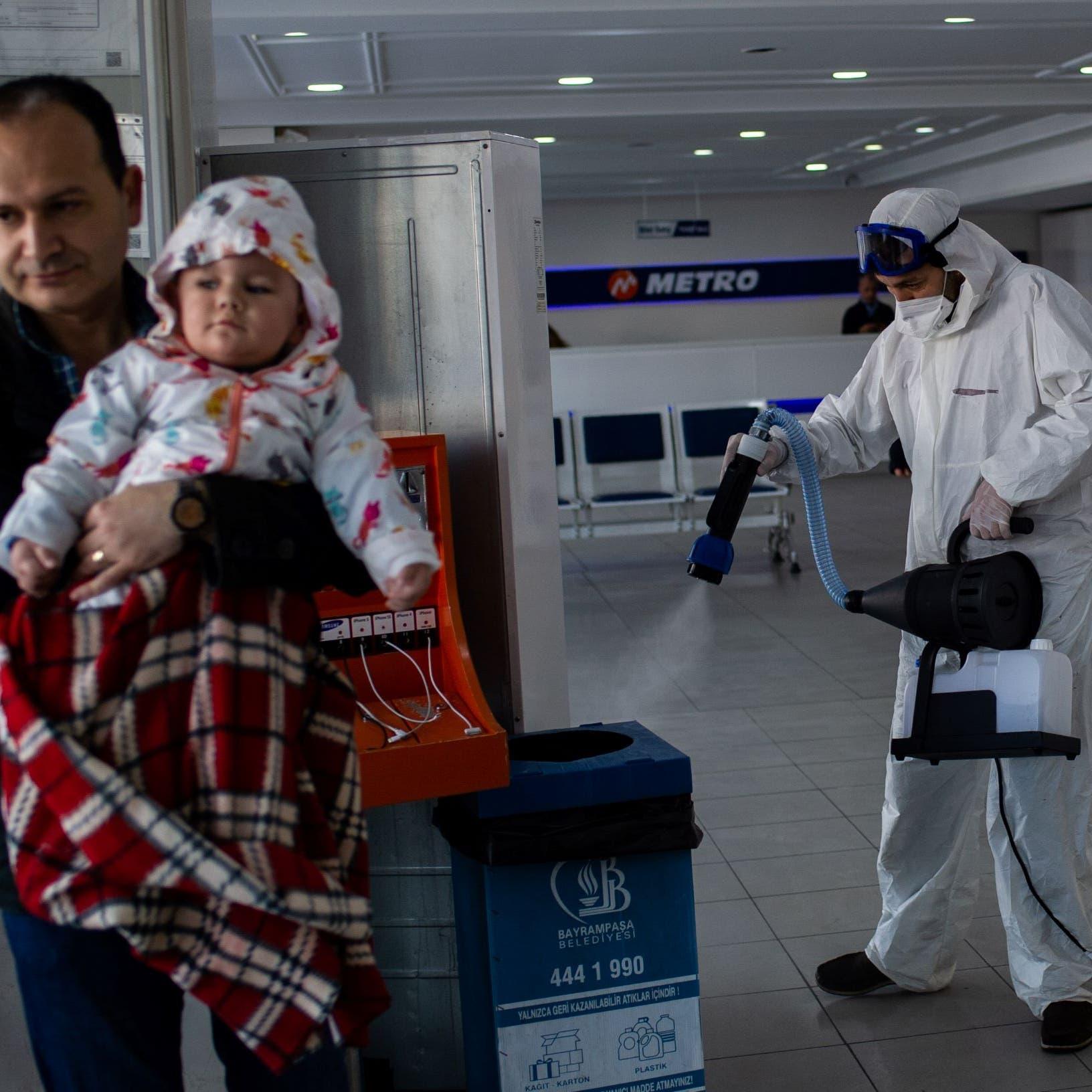 بسبب كورونا.. نقل أجانب علقوا بمطار إسطنبول لشمال تركيا