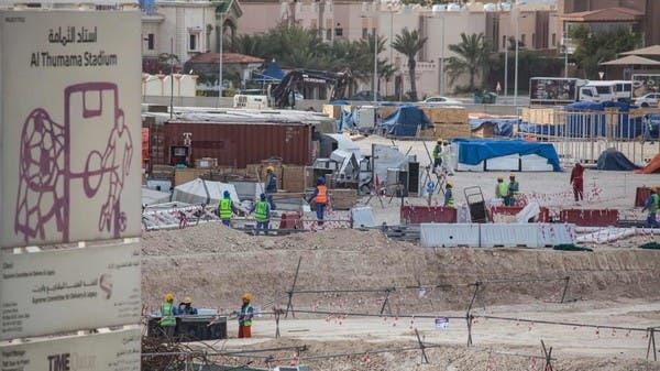 صحيفة بريطانية تحذر: كورونا يتفشى بين عمال البناء بقطر