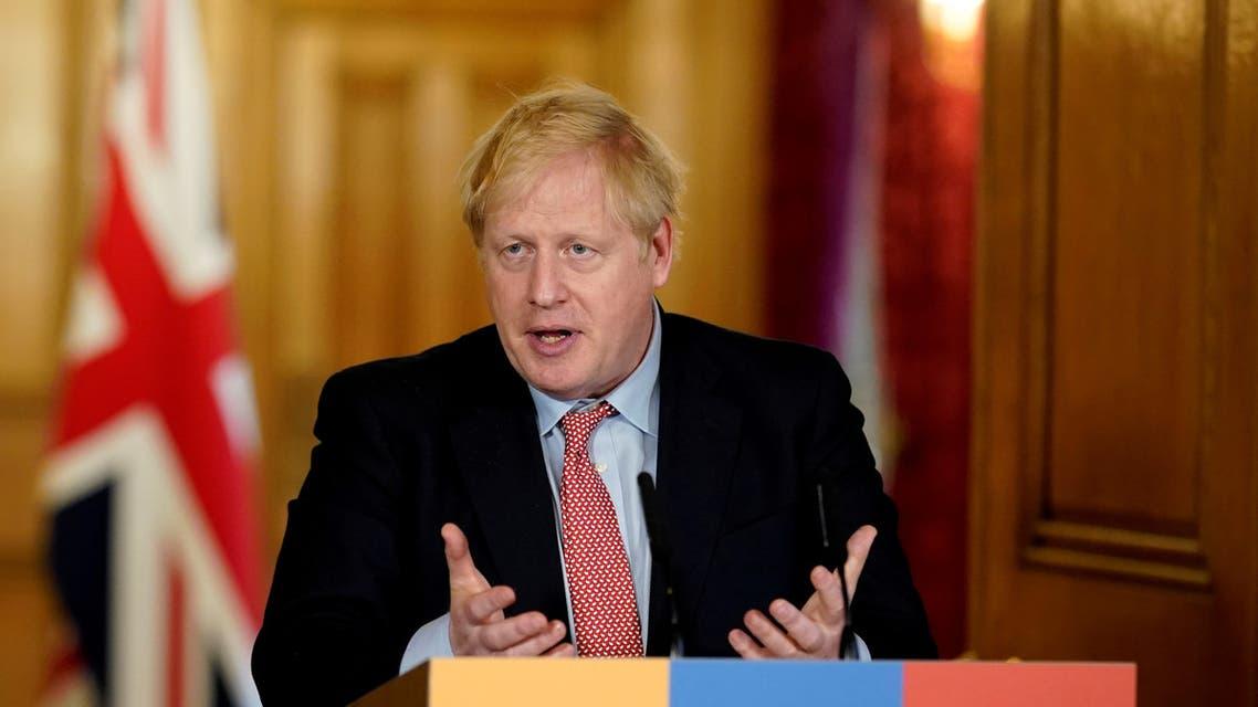 UK PM Johnson (reuter)