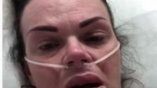 رسالة بالدموع والألم للعالم من بريطانية حامل مصابة بكورونا