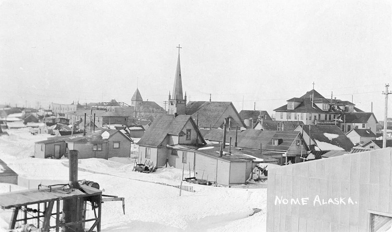 صورة لقرية نوم عام 1916