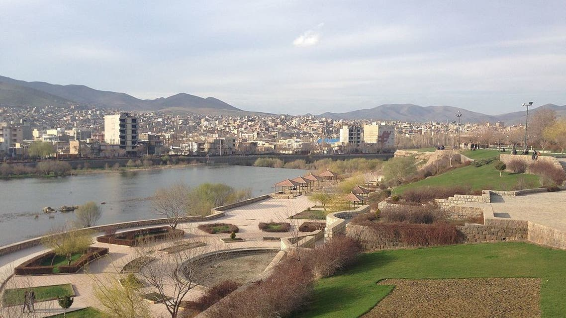 Min.neel by Wikimedia Commons Iran  city of Saqqez