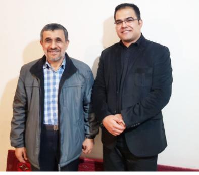 مولویبا احمدی نژاد