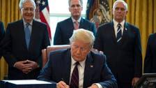 ترمب يستعد لتوقيع خطة إنقاذ جديدة