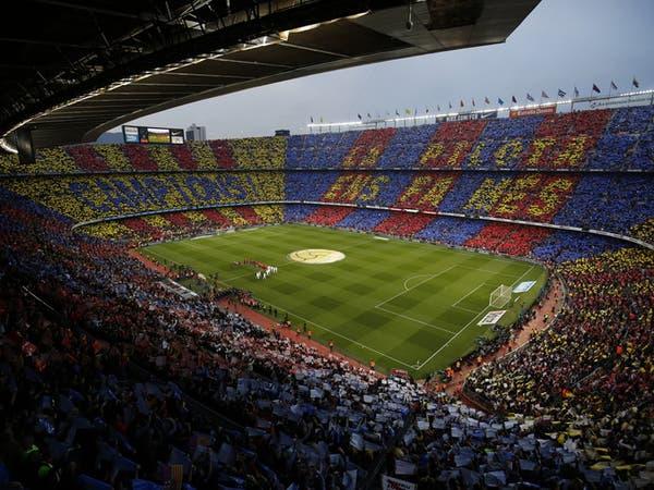 برشلونة يتبرع بـ30 ألف كمامة لإقليم كاتالونيا